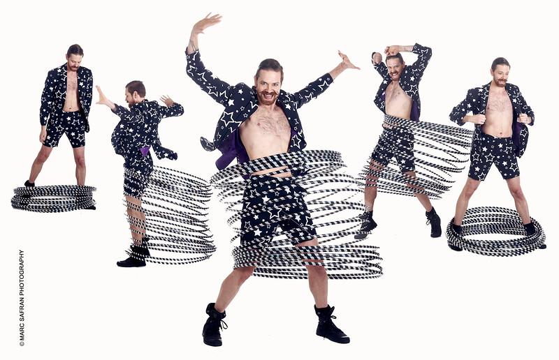 Ben Franklin - Hula Hoop Performer