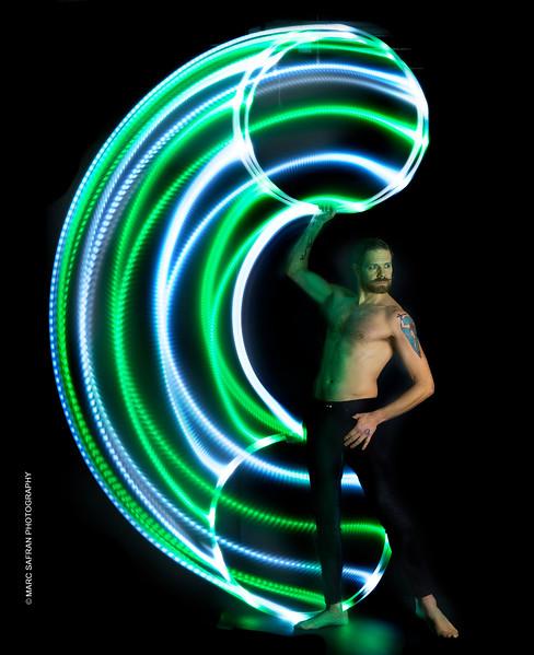 Ben Franklin - LED Hula Hoop