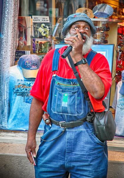 French Quarter Street Performer