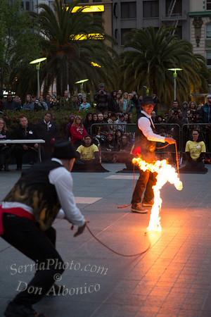 2013 Union Square Fire Dance Expo