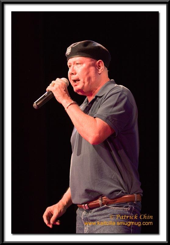 Rock & Roll king Bo Bo Han. He's in his 60's, but he can still sing.