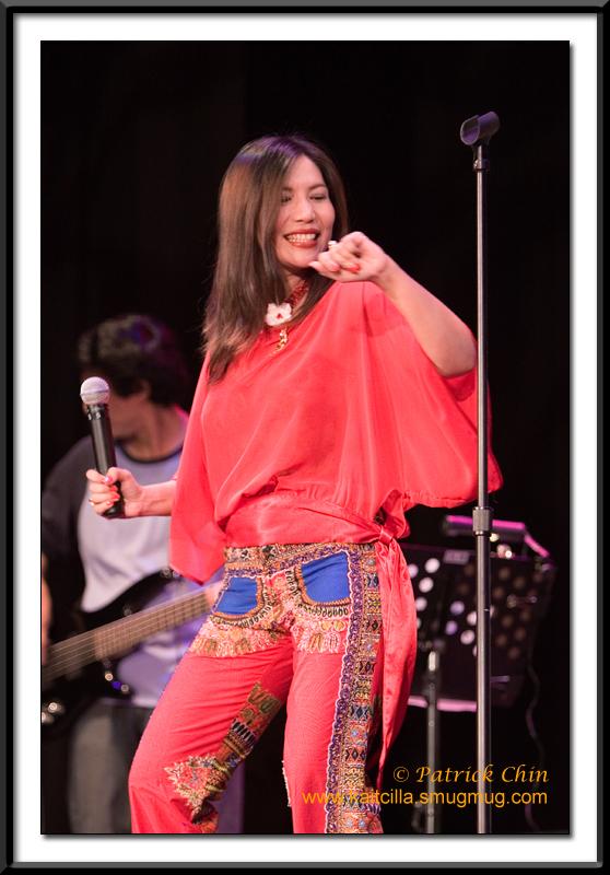 Maykhala in a dance mode