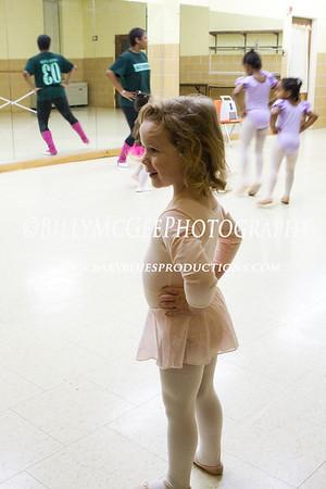 Ballet Class - 21 Jan 2009