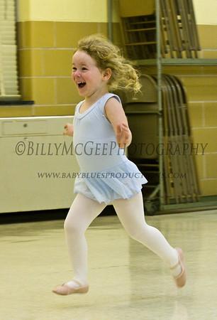 Ballet Practice - 15 Oct 08