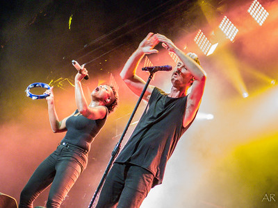 Fitz and The Tantrums @ Ravinia