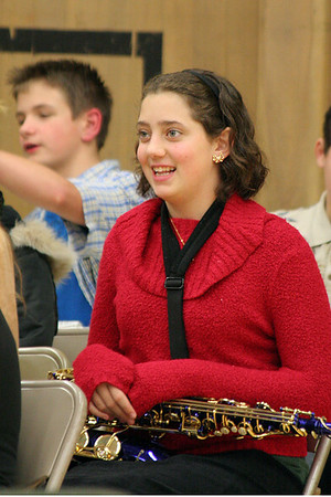 Middle School Holiday Concert (December 2006)