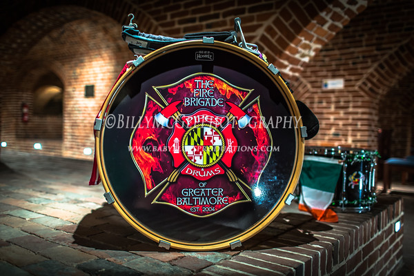 Fire Brigade Pipes and Drum of Greater Baltimore - 15 Mar 2015