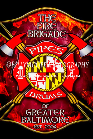 The Fire Brigade Pipes and Drums - 13 Mar 2016