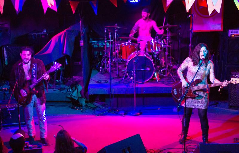 Delta Mud performing at Humpin Hannah's during Treefort, Boise, Idaho.