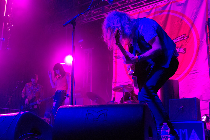 Black Mountain created and maintained an overwhelming sound and feeling during their set at Treefort, Boise, Idaho.