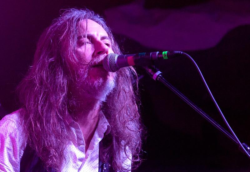 Stephen McBean  with Black Mountain on main stage at Treefort, Boise, Idaho.