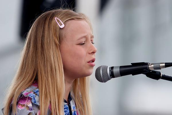 Kate Mason performs at the Youth Showcase fro Treefort, Boise, Idaho.