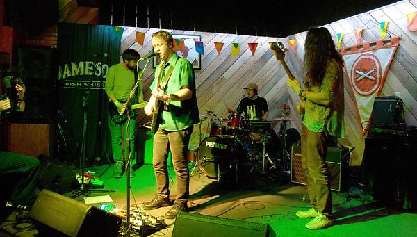 Panthar Car performing at Tom Grainey's during Treefort Music Fest, Boise, Idaho.