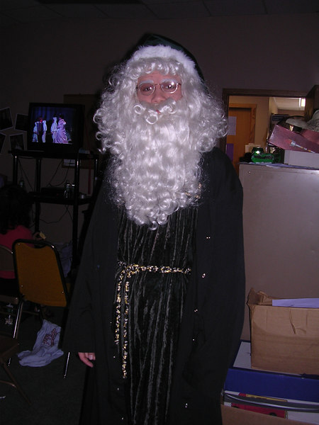 Father Christmas, played by Joe Hy