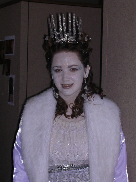 Jadis, the White Witch, played by Brielle Litz.