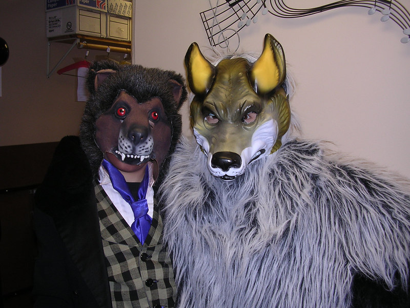 Fenrus Elf and Wolf