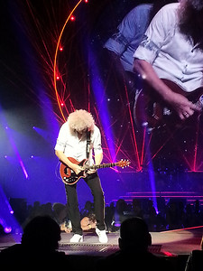 The great Brian May ..