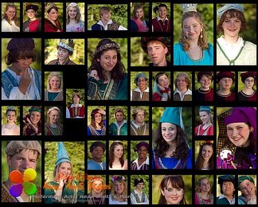 Once Upon A Mattress - cast photos