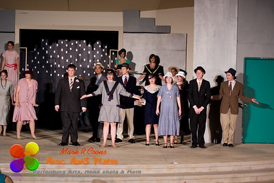 Thoroughly Modern Millie - wide angle performance photos