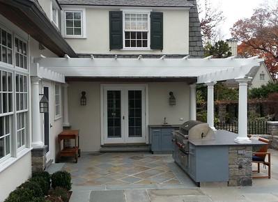 185 - 481763 - Bronxville NY - Pergola & Danver Kitchen