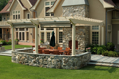 198 - 433103 - Greenwich CT - Custom Pergola