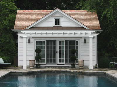 177 - 335787 - Westport CT - Custom Pool Pergola