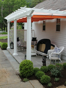 177 - 428650 - Redding CT - Custom Pergola with Canopy