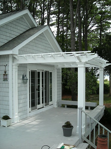 95 - 343449 - Cambridge MD - Attached Pergola