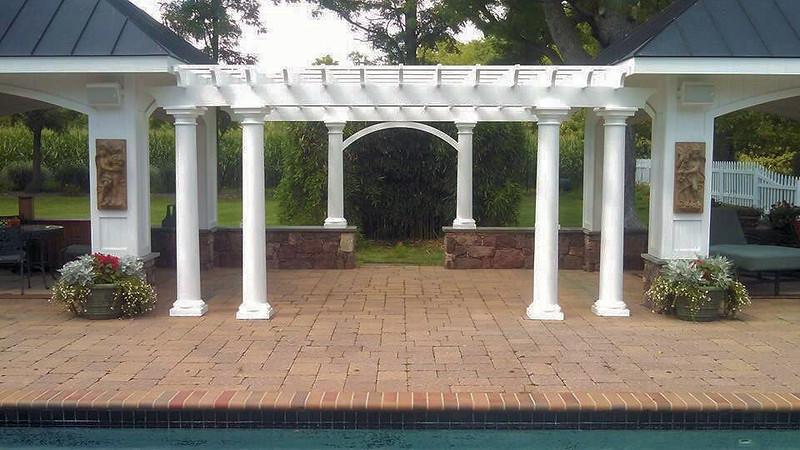 873 - NJ - Pool Pergola
