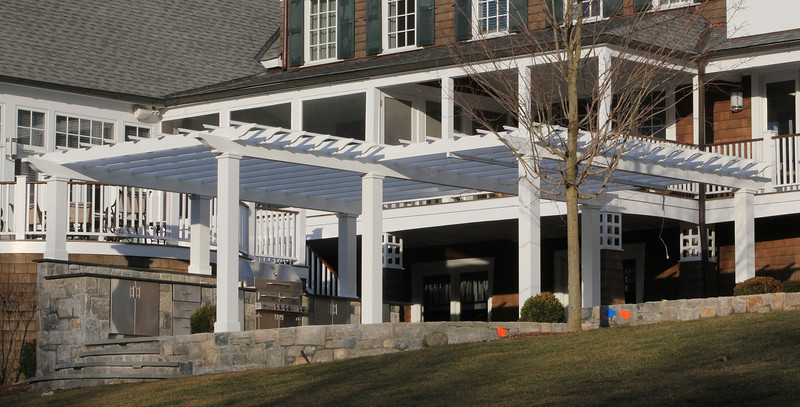 177 - 381739 - New Canaan CT - Custom Pergola