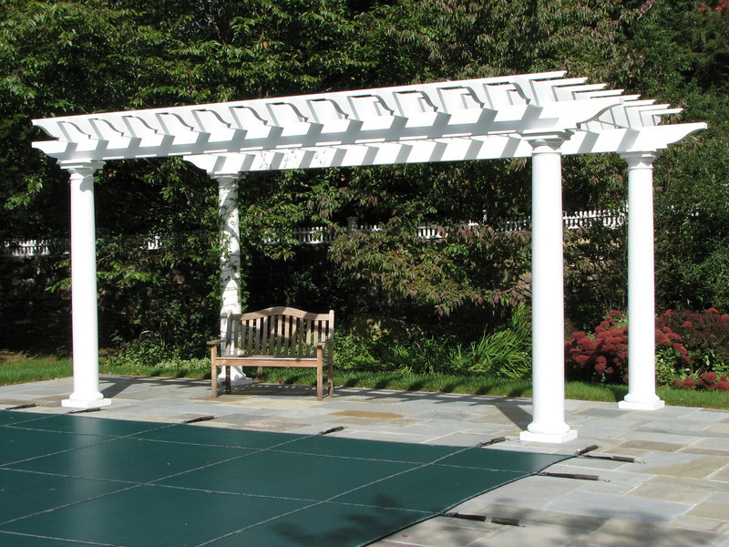 177 - 277470 - New Canaan CT - Custom Pool Pergola