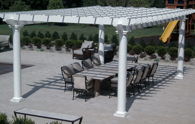 883 - 313247 - Holmdel NJ - Pool Pergola