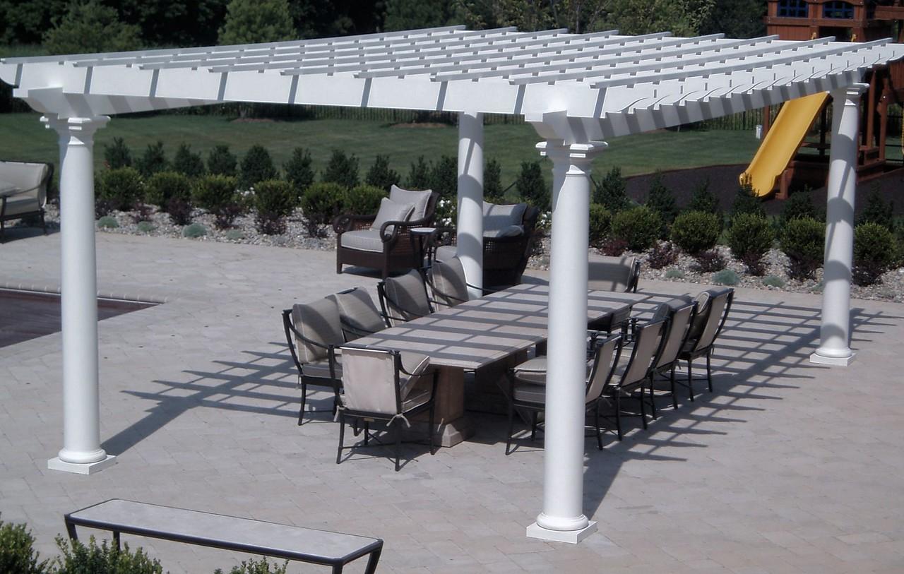 883 - 313247 - Holmdel NJ - Pool Pergola