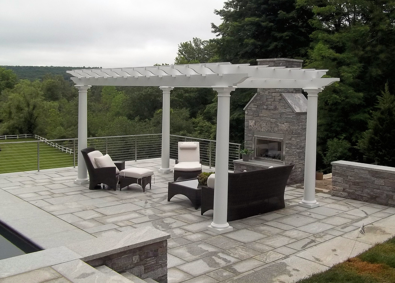 743 - Deep River CT - Pergola