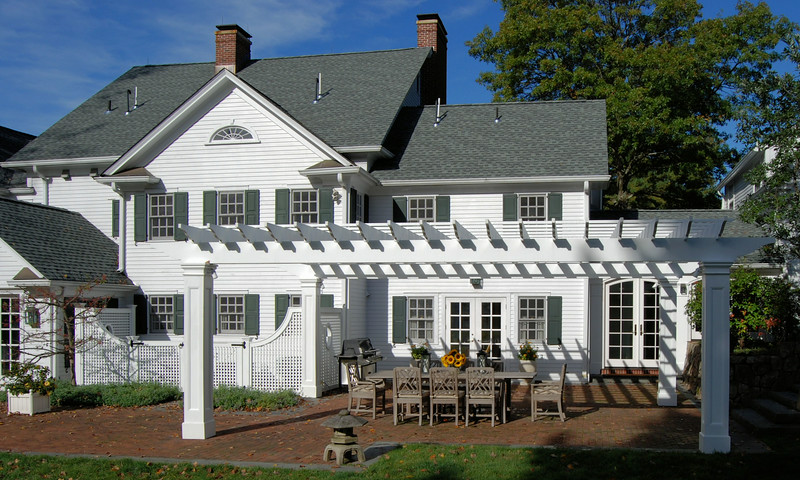 895 - 428927 - Morristown NJ - Pergola & Lattice