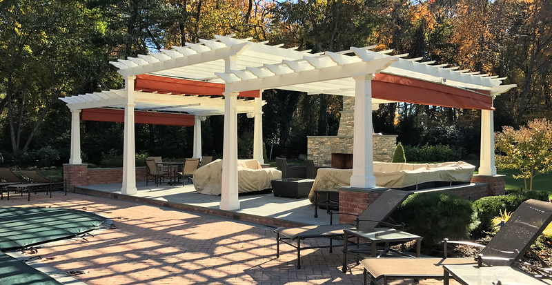 286 - 500763 - Upper Brookville NY - Custom Pergola
