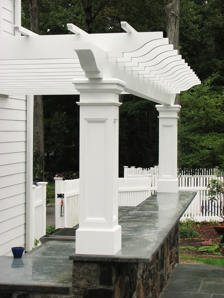 177 - 351835 - New Canaan CT - Custom Pergola on Bar