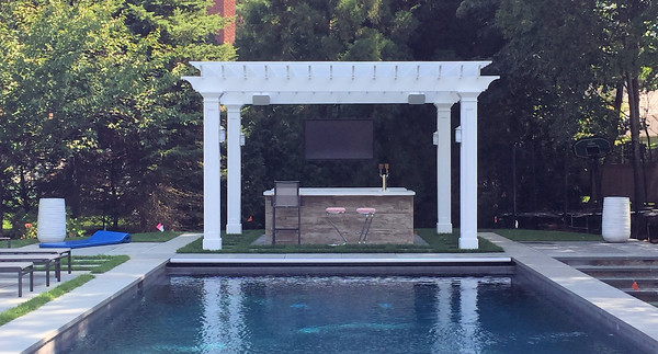 177 - 574022 - New Canaan CT - Custom Pergola