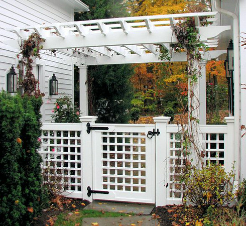 177 - 348944 - New Canaan CT - Pergola & Lattice