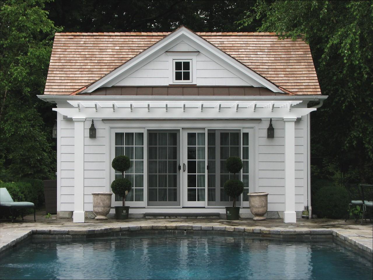 177 - 335787 - Westport CT - Custom Pool Pergola