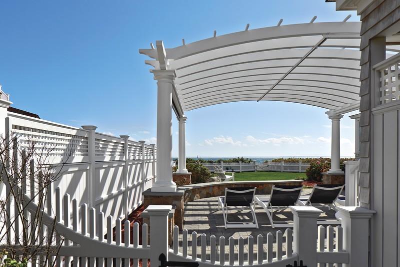533 - 465378 - Falmouth MA - Pergola & Fence