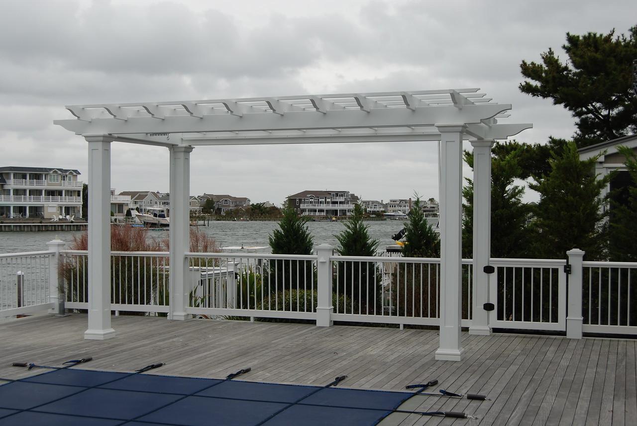 873 - 428306 - Avalon NJ - Deck Pergola