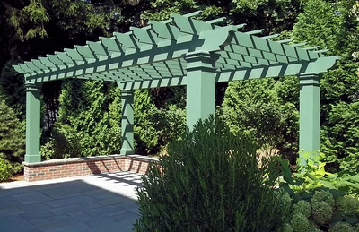 961 - 404820 - York ME - Pergola on Wall