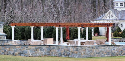 177 - 368930 - Greenwich CT - Custom Cedar Pergola