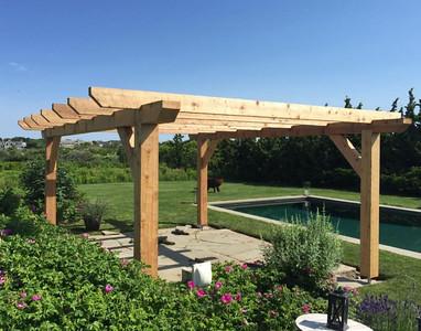294 - 496649 - Sagaponack NY - Custom Wood Pergola