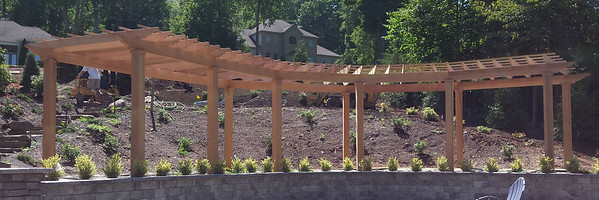 762 - 536517 - Southington CT - Red Cedar Pergola