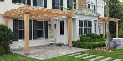 177 - 510477 - Greenwich CT - Red Cedar Pergolas