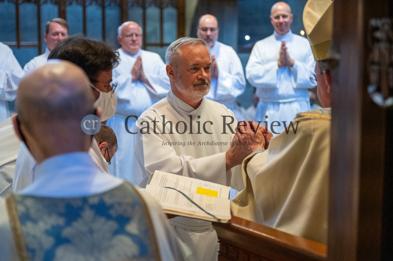 Permanent deacon ordination May 22 at the Cathedral of Mary Our Queen in Homeland. (Kevin J. Parks/CR Staff)