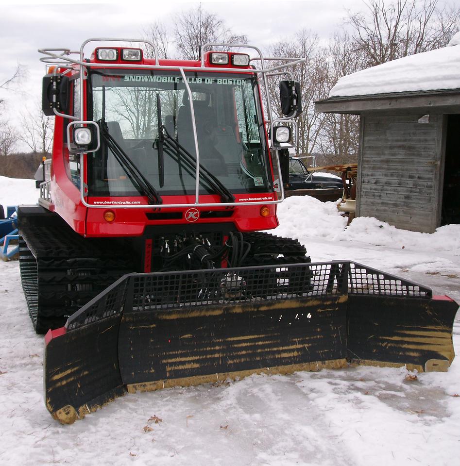 Equipment: New York:  Snow trail equipment