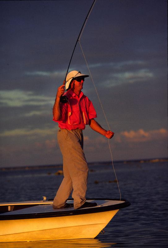 Bonefish On Fly Fishing Turneffe Belize